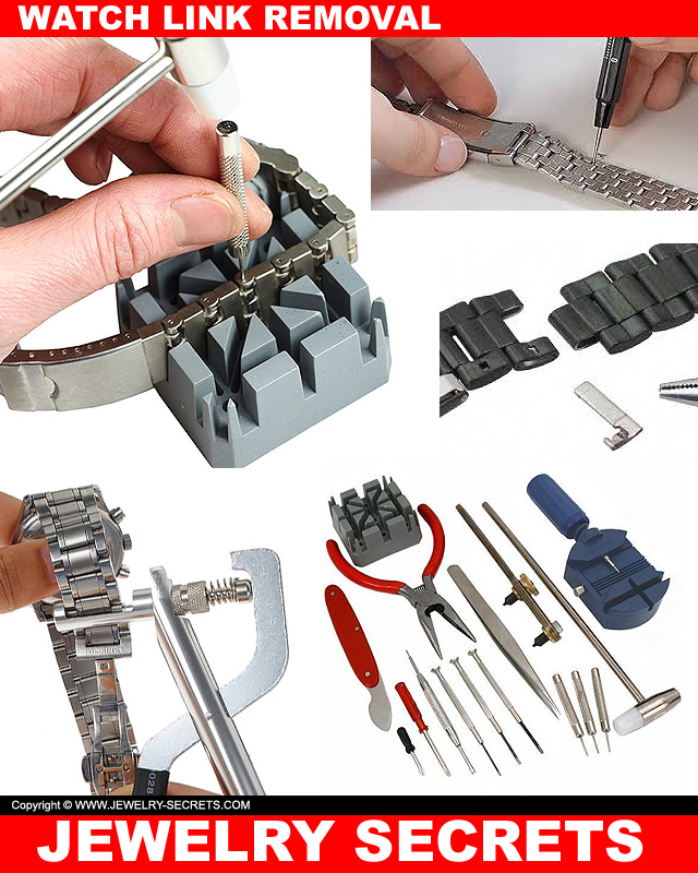 Watch Link Removal Tools