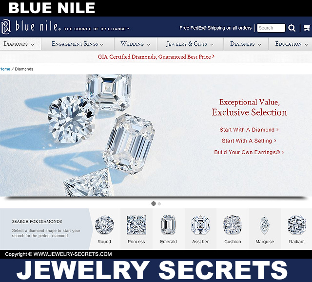 blue nile vs james allen � jewelry secrets