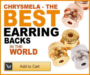 Chrysmela Best Locking Back Earrings In the World