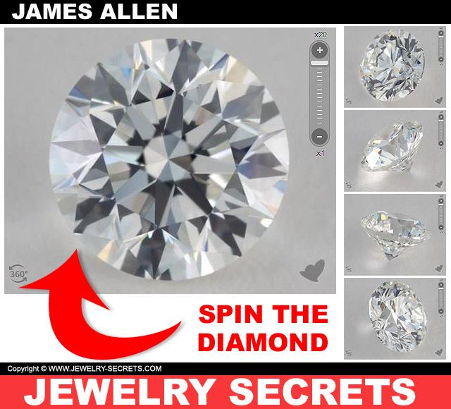James Allen 360 Diamond Display Technology