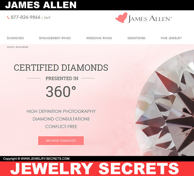 Blue Nile Vs James Allen Jewelry Secrets