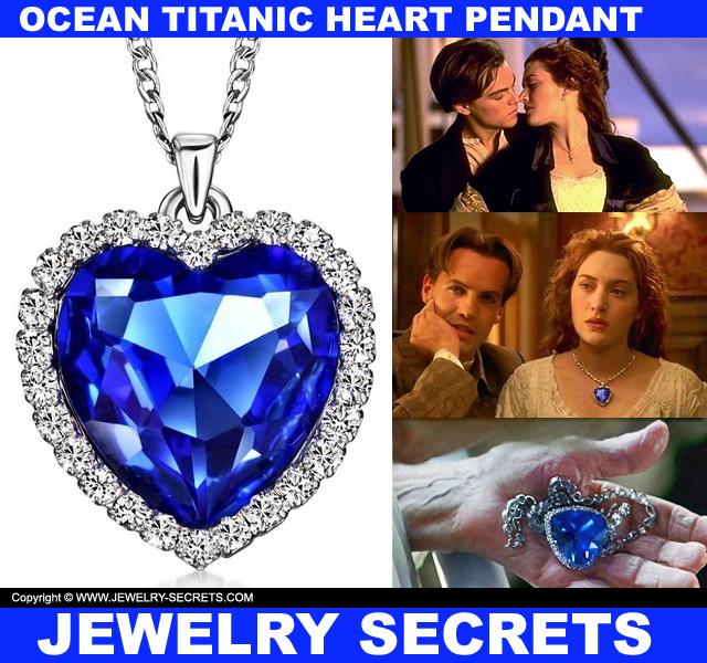 Ocean titanic blue heart pendant jewelry secrets ocean titanic blue sapphire heart pendant necklace aloadofball Image collections