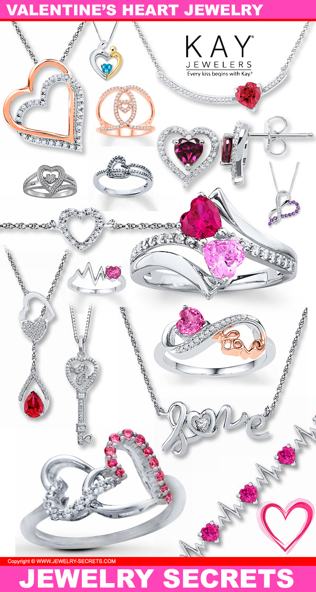 Schön Valentines Heart Jewelry From Kay Jewelers