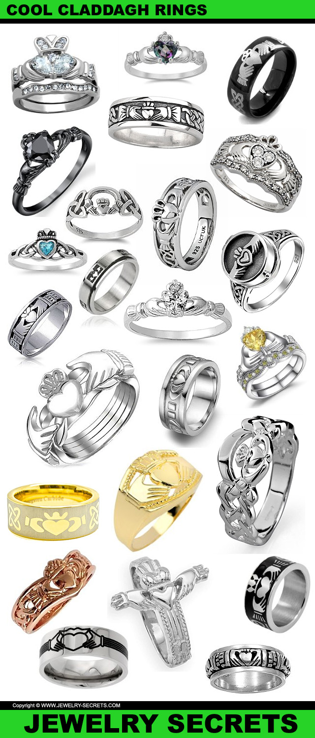 Very Cool Claddagh Rings