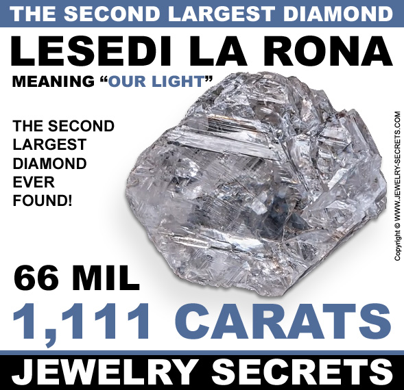 The Second Largest Diamond Ever Found Jewelry Secrets