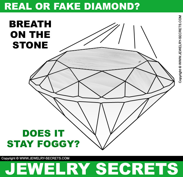 how to make fake diamonds look real