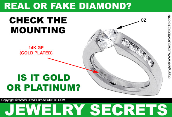 Real Or Fake Diamond Jewelry Secrets