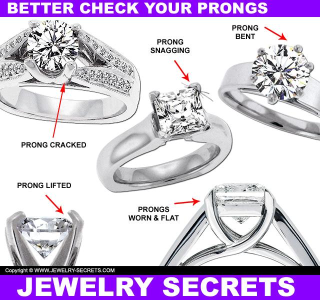 Ring Prongs Bent