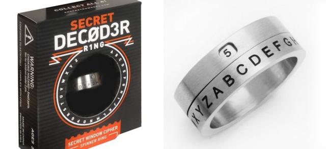 Decoder Ring Secret Window