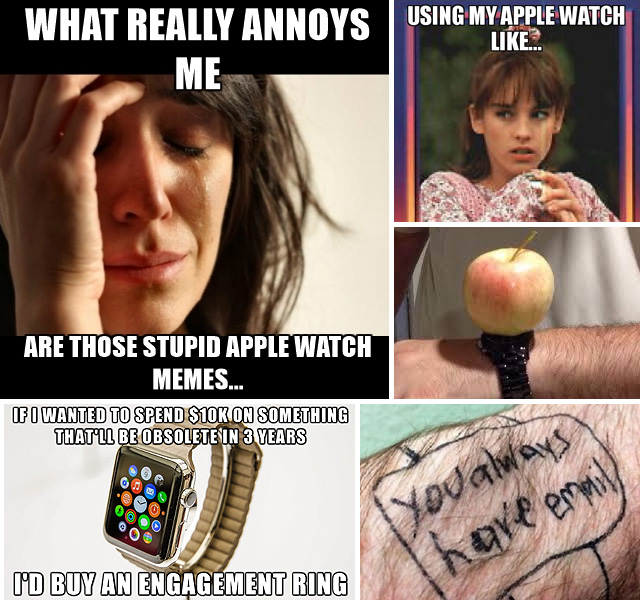 Apple Watch Humor Memes Laughs