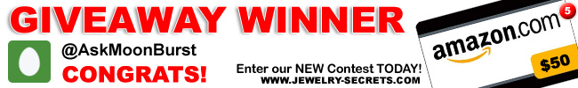 Jewelry Giveaway 5 Winner