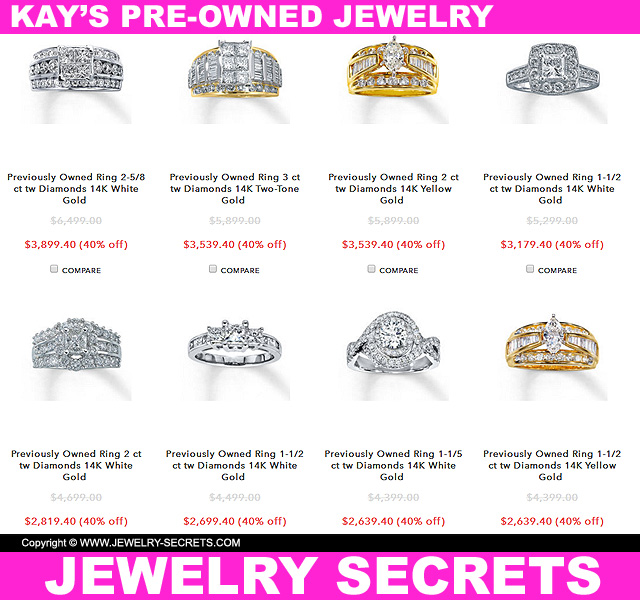 Kay Jewelers Pre Owned JewelryKAY JEWELER S PRE OWNED JEWELRY   Jewelry Secrets. Previously Owned Wedding Rings. Home Design Ideas
