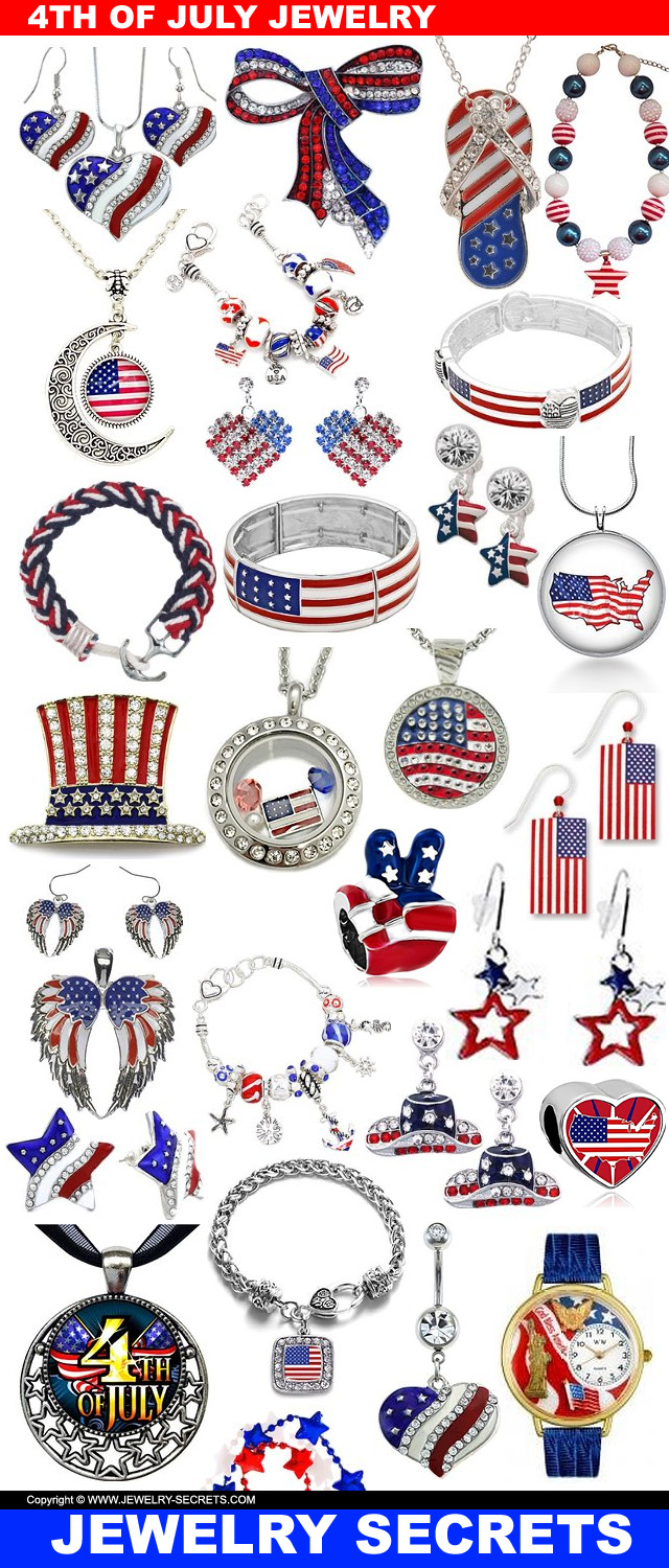 4th Of July Independence Day Jewelry