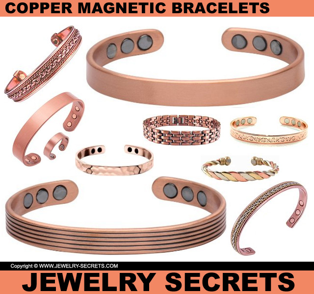 Copper magnetic bracelets jewelry secrets for How does magnetic jewelry work