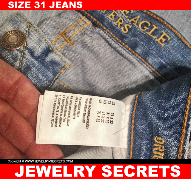 From 34 Waist Size To Size 31 Jeans