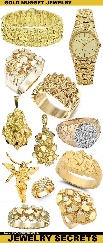 GOLD NUGGET JEWELRY – Jewelry Secrets