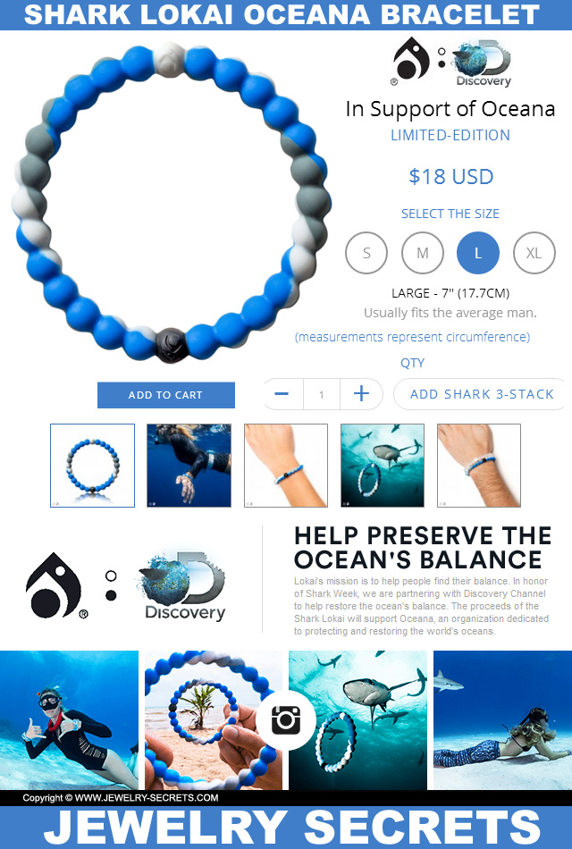 photograph regarding Lokai Bracelet Meaning Printable identify SHARK LOKAI BRACELET Jewellery Techniques