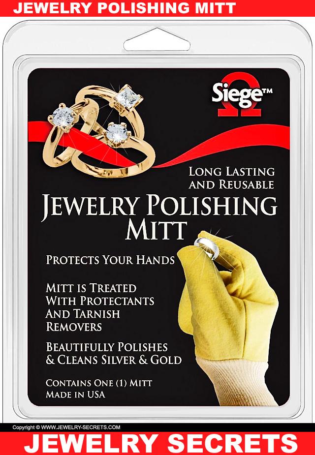 Jewelry Polishing Glove Mitt