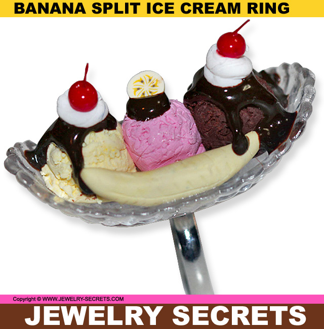 IT'S NATIONAL BANANA SPLIT DAY! – Jewelry Secrets