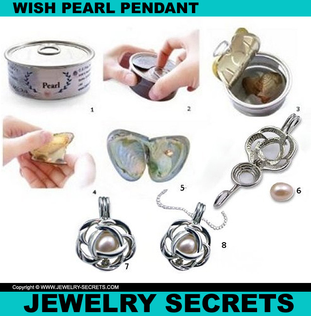Wish Pearl Pendant Kits Jewelry Secrets