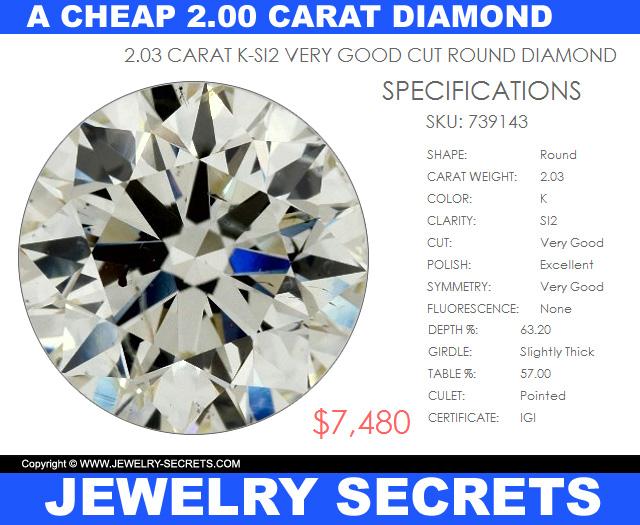 A Cheap 2.00 Carat Diamond