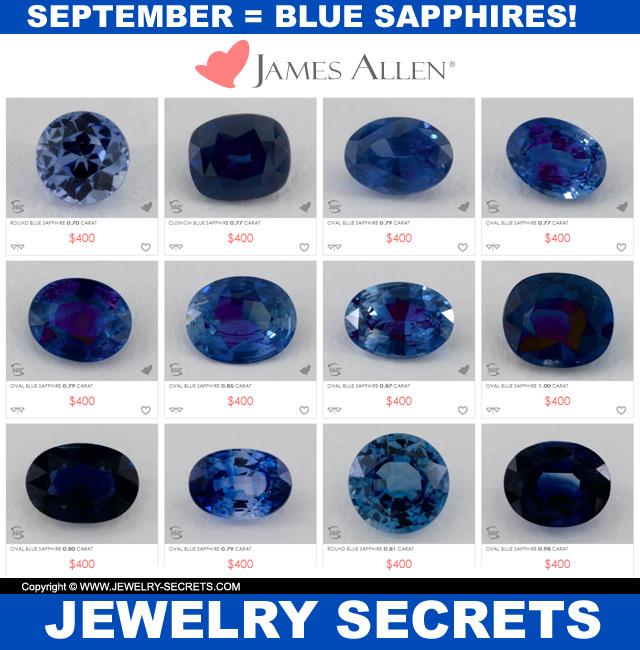 september blue sapphires