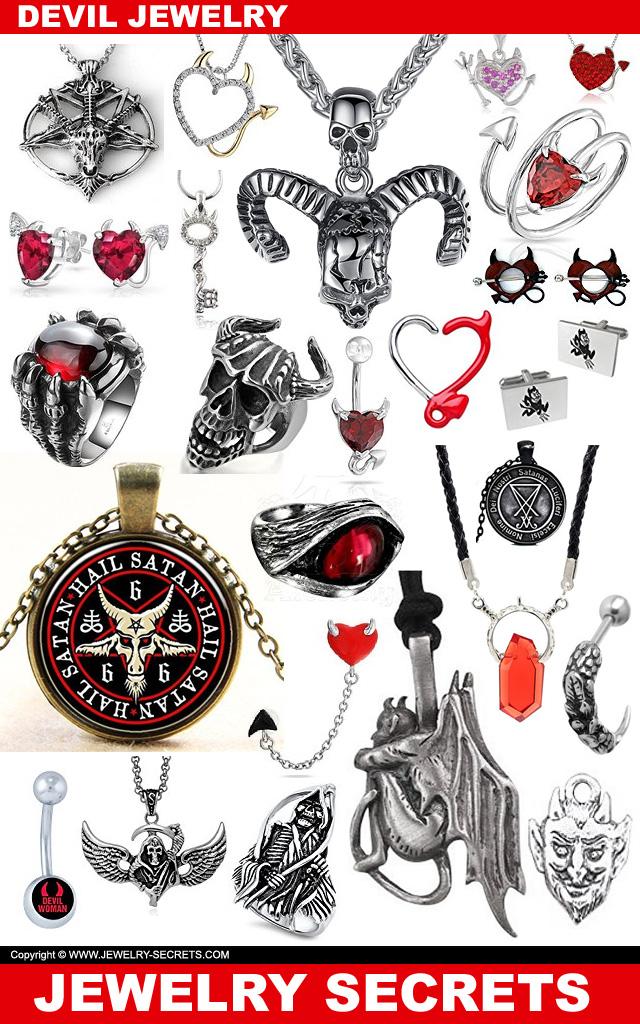 devil satan jewelry