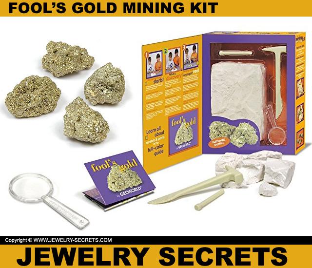 fools gold mining kit