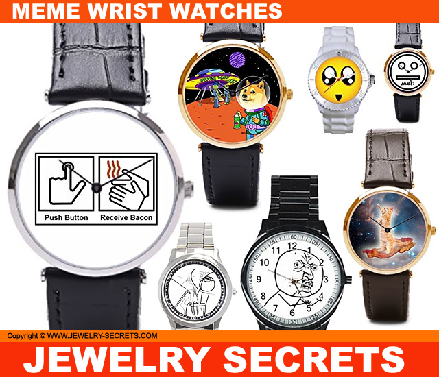funny meme wrist watches