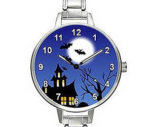 halloween evening quartz watch