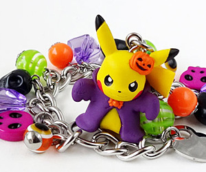 pikachu halloween bracelet