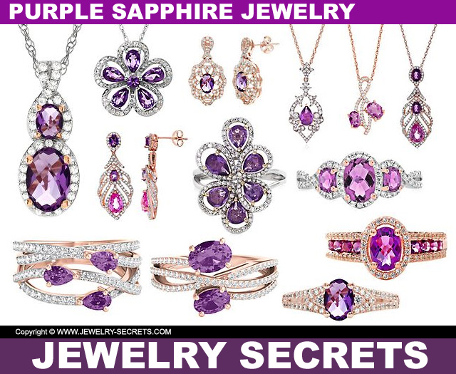 purple sapphire jewelry