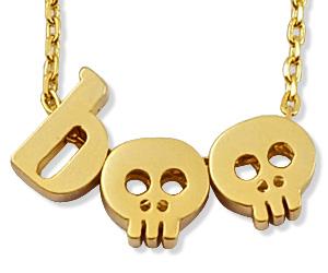 skull boo necklace