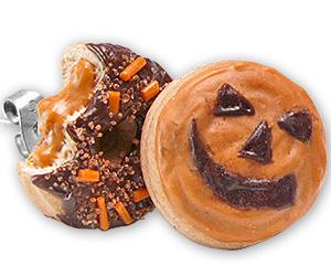 spooky halloween donut studs