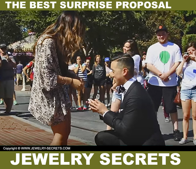 the best surprise wedding proposal