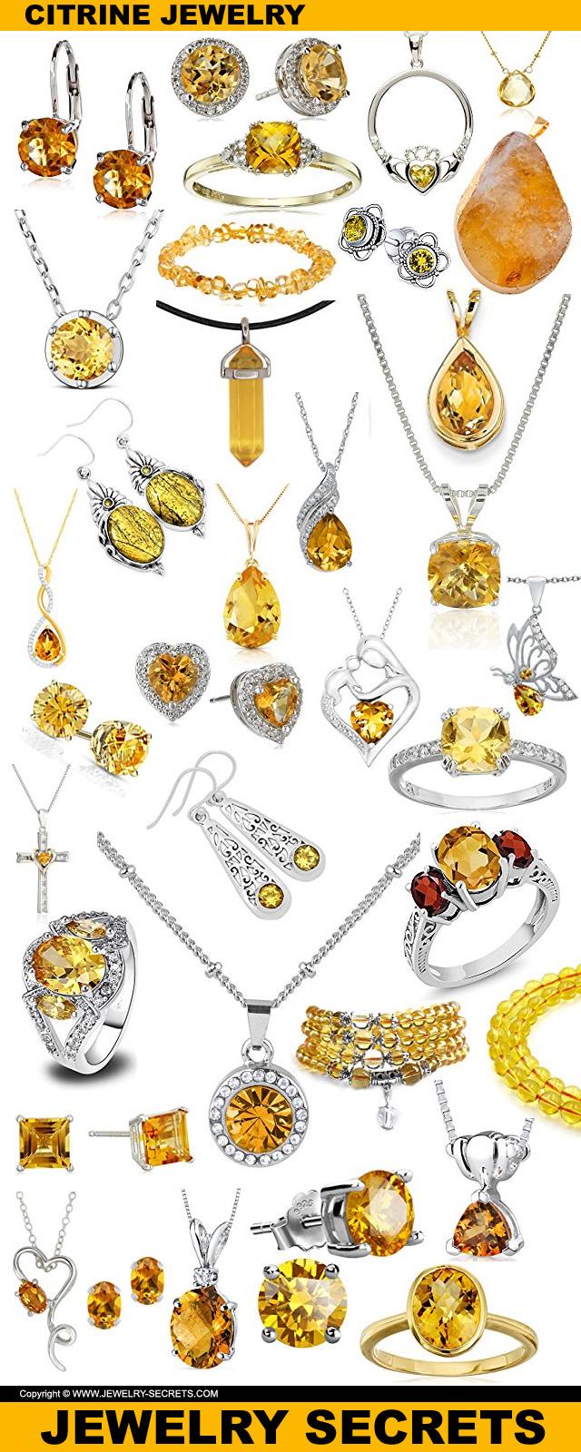 citrine jewelry novembers birthstone