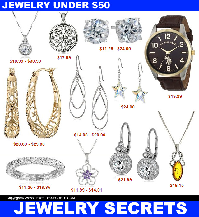 jewelry under fifty dollars