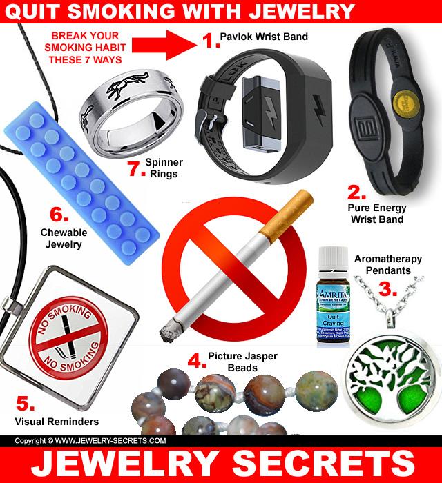 7 ways to quit smoking with jewelry