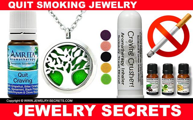 aromatherapy quit smoking pendant oils