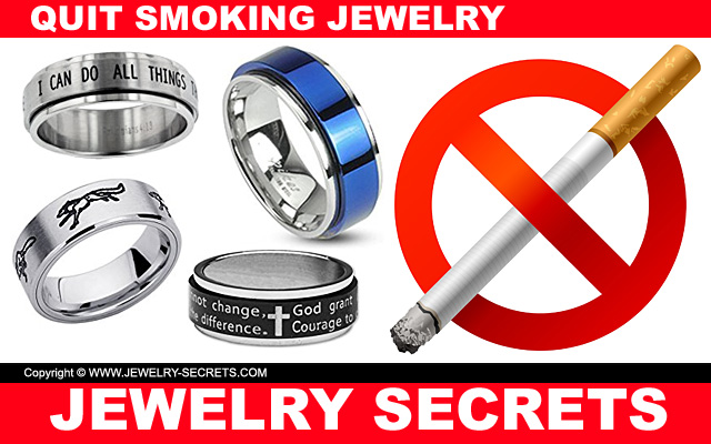 quit smoking anxiety spinner rings