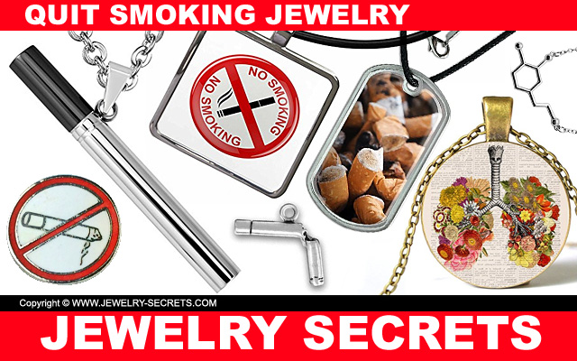 quit smoking jewelry visual reminders