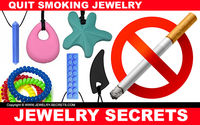 quit smoking with chewable jewelry