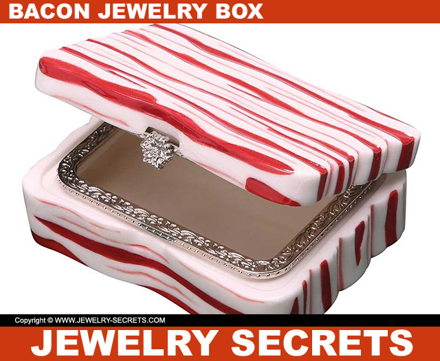 Bacon Jewelry Box