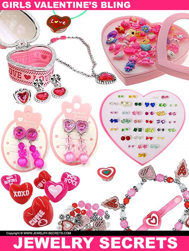 Little Girls Valentine Jewelry