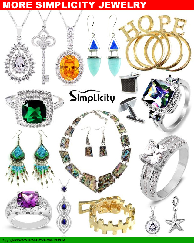 Simplicity Jewelry Collection