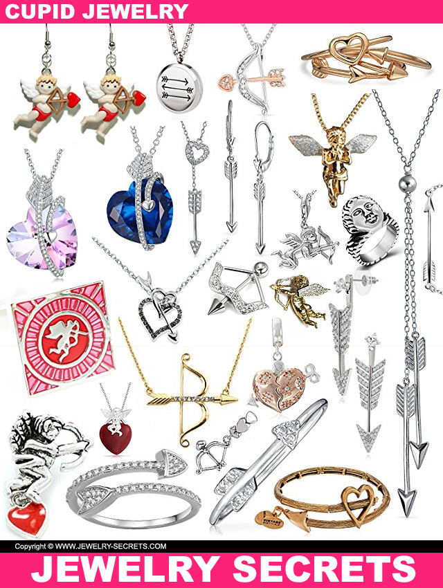 Valentines Day Cupid Jewelry