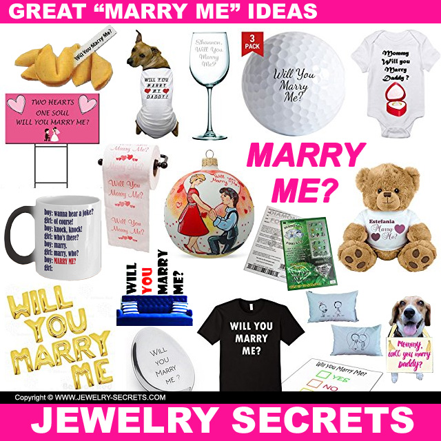 25 Great Marry Me Proposal Ideas