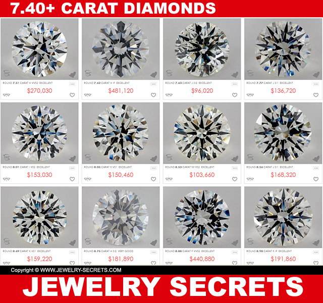 7.40 Carat Diamonds
