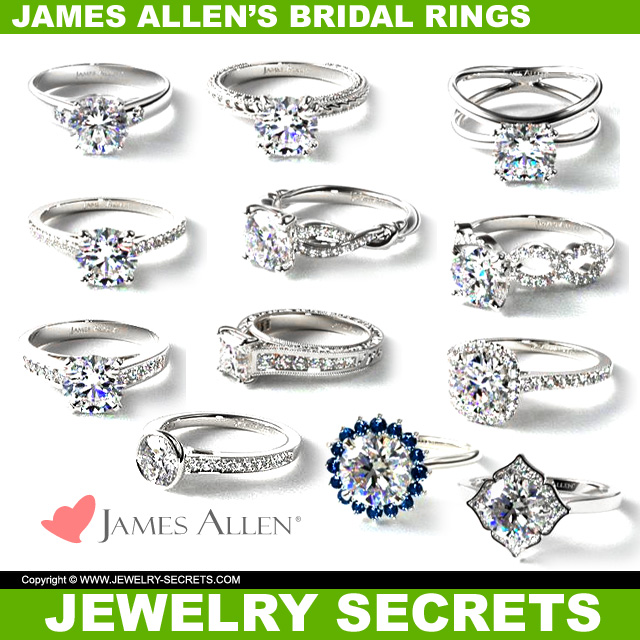James Allens New Bridal Rings