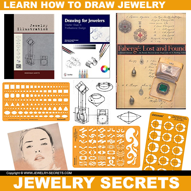 Learn How To Draw Jewelry Illustrations